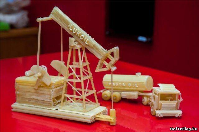 Модель нефтяной вышки своими руками для детей 19